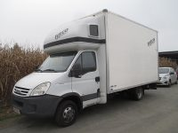 IVECO Daily 35C18 Automatic Koffer + Ladebordwand bei HWS    Auto Eberhaut Ges.m.b.h in
